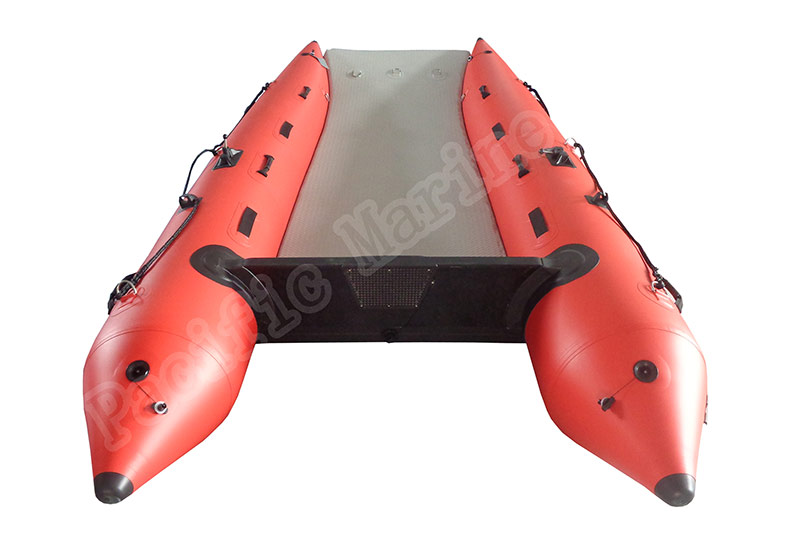 4.2 meters High Speed Inflatable Boat, Speed CAT with Air Deck