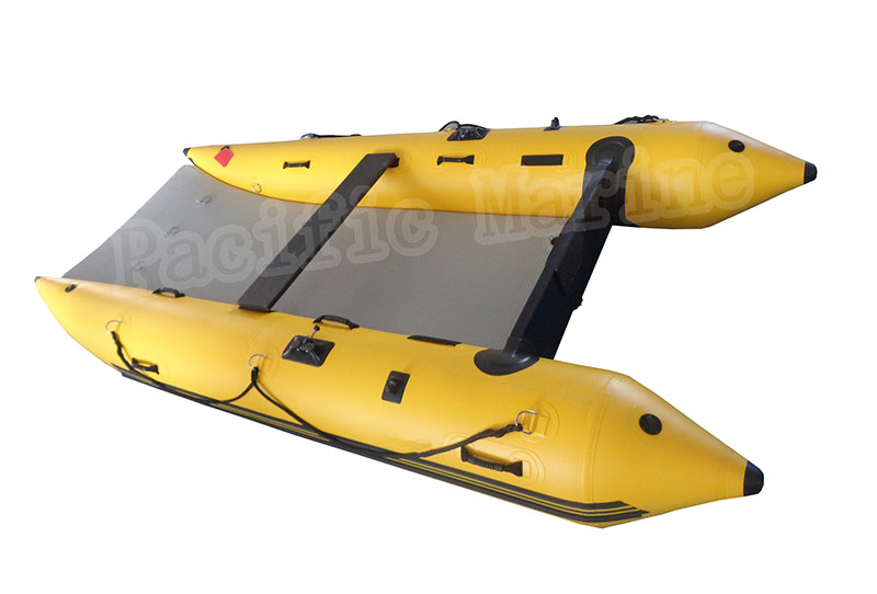 3.8 meters High Speed Inflatable Boat, Speed CAT, with Air Deck