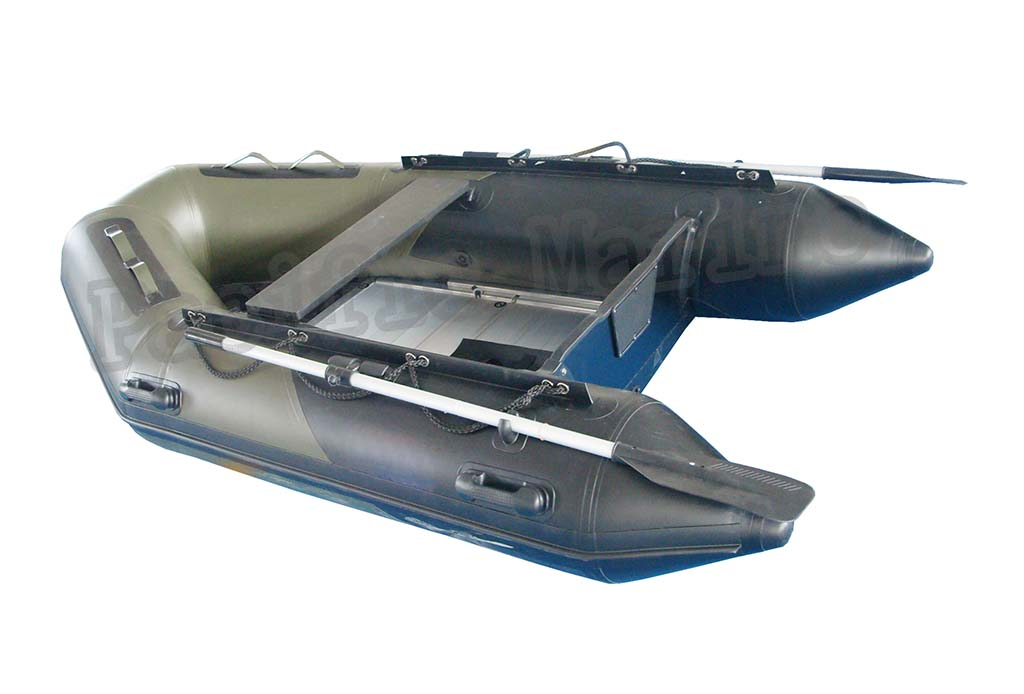 2.7 meters Roll Up Inflatable Boat With Aluminium Floor