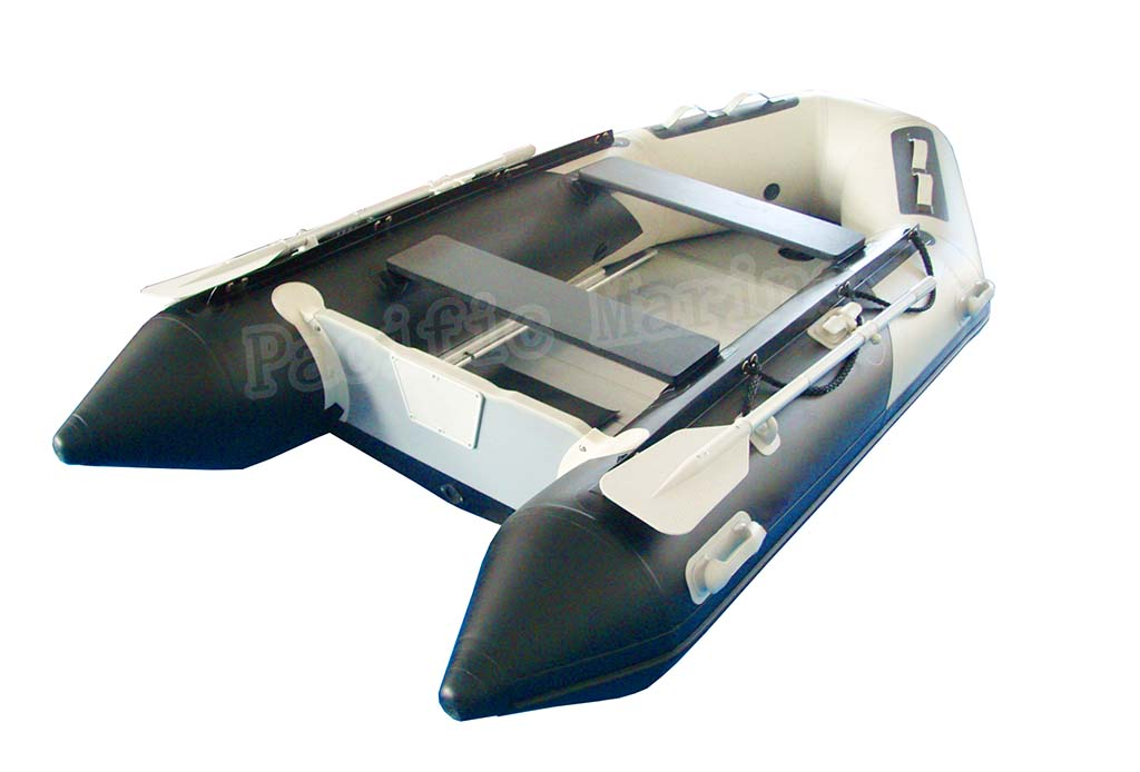 3.3 meters Roll Up Inflatable Boat With Aluminium Floor