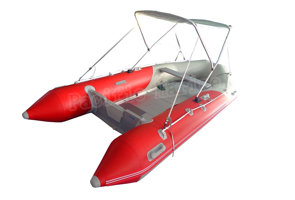 3.9 meters Roll Up Inflatable Boat with Plywood Floor