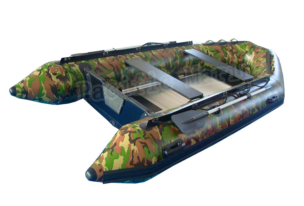 4.2 meters Roll Up Inflatable Boat with Aluminium Floor