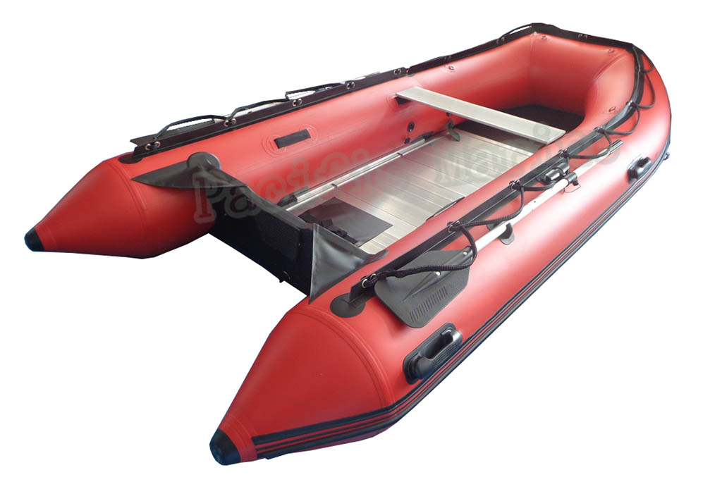 3.6 meters Roll Up Inflatable Boat with Aluminium Floor