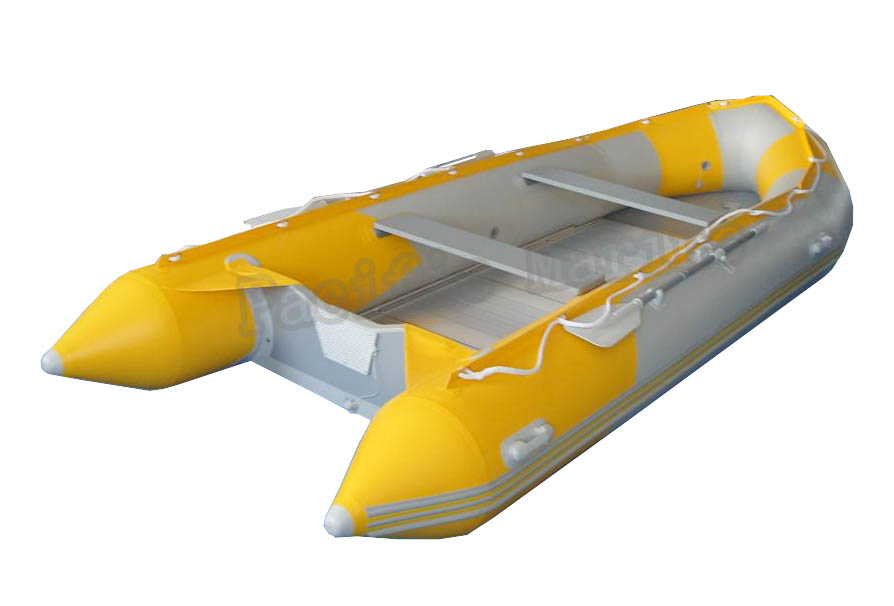3.9 meters Roll Up Inflatable Boat with Aluminium Floor
