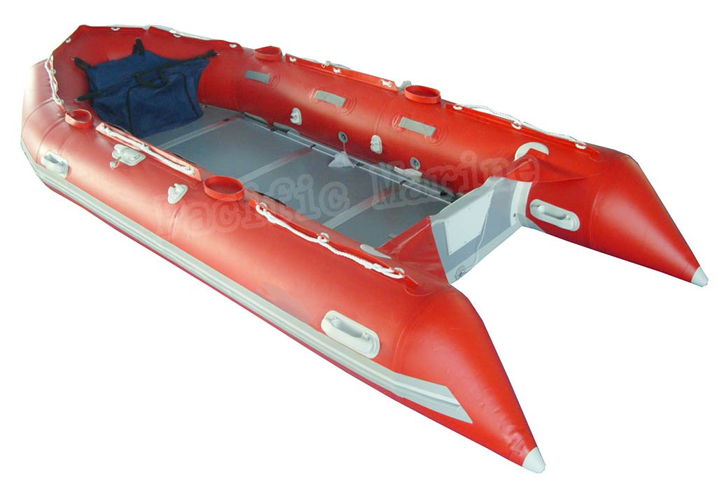 4.7meters Roll Up Inflatable Boat with Plywood Floor